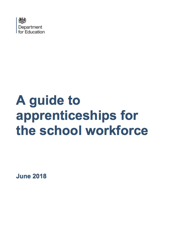 A guide to apprenticeships for the school workforce