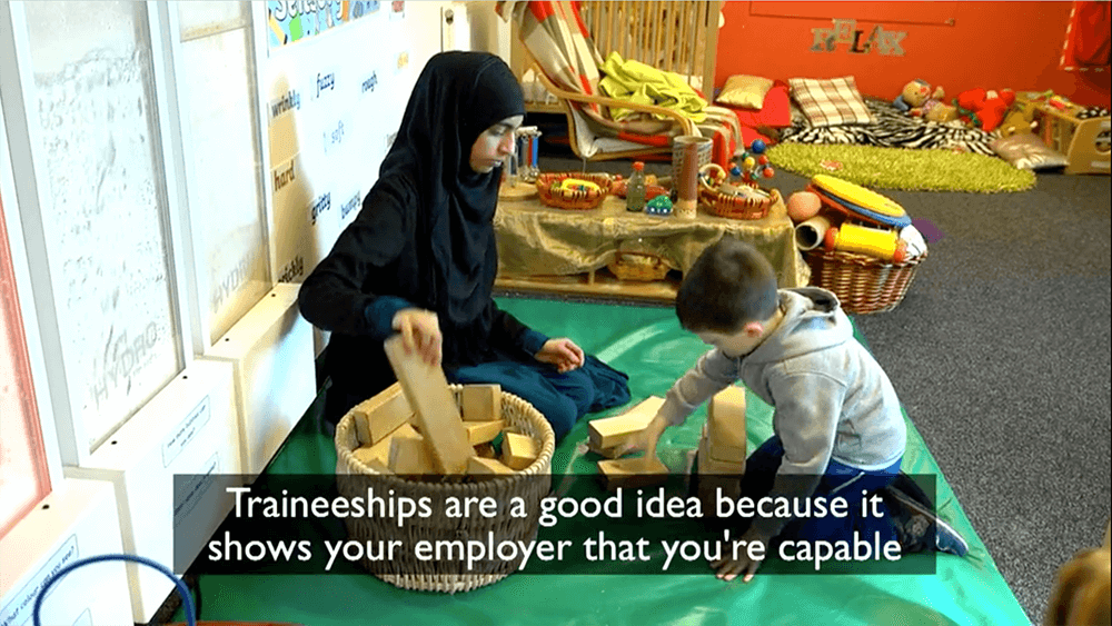 Traineeships: Why they work: Bradford