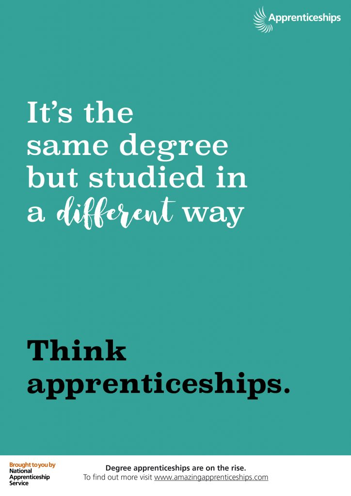 Think apprenticeships – Staff room poster #5