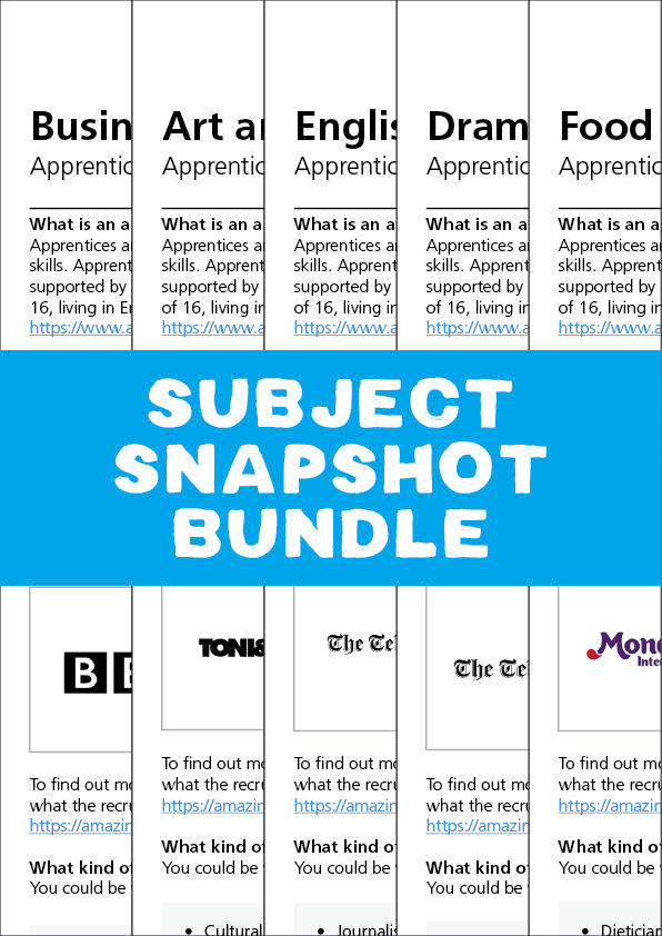 NAW2021 Subject Snapshot Bundle