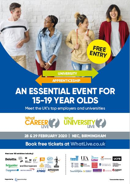What Career Live? Poster – Birmingham
