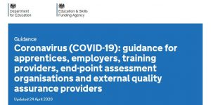 COVID-19 guidance for apprentices and employers