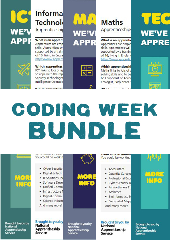 Coding Week Poster Bundle