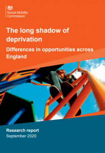 social mobility report by the Social Mobility Commission