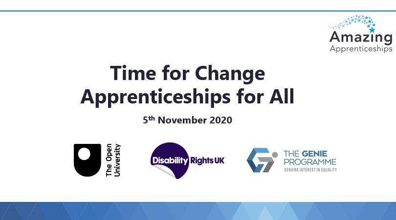 Time for Change: Apprenticeships For All