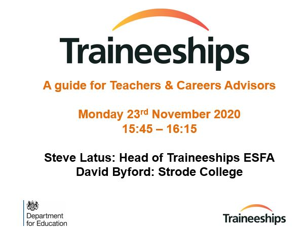 Traineeships Guide – Webinar Slides
