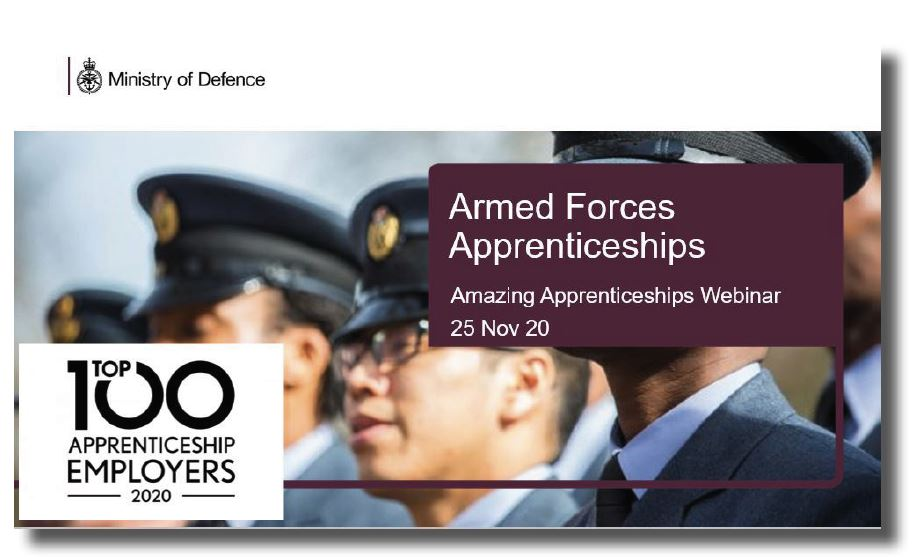 Apprenticeships with the Armed Forces Webinar Slides