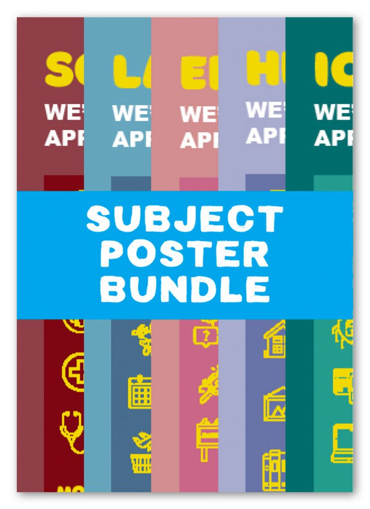 NAW2021 Subject Poster Bundle