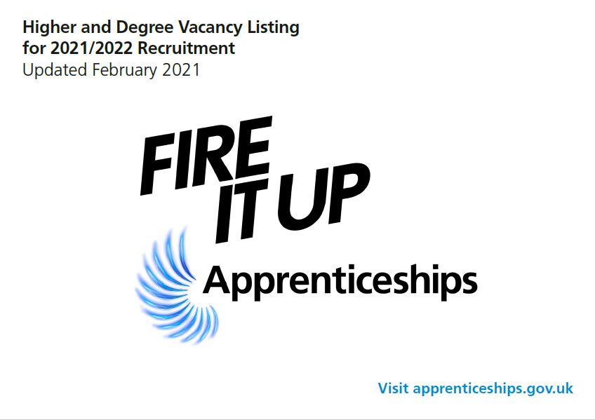 Higher and Degree Apprenticeship Vacancy Listing