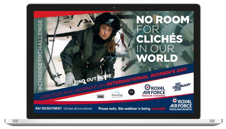 RAF No room for clichés webinar recording