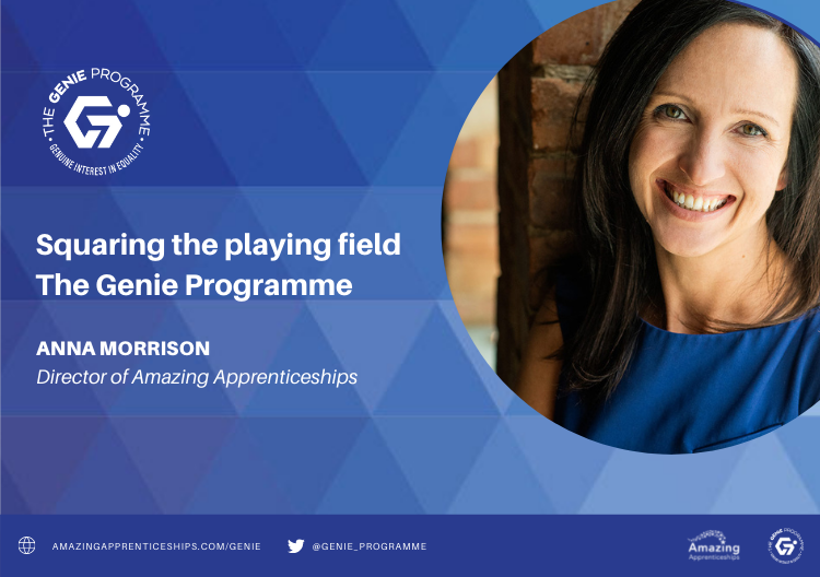 The Genie Programme – squaring the playing field for apprenticeships and traineeships